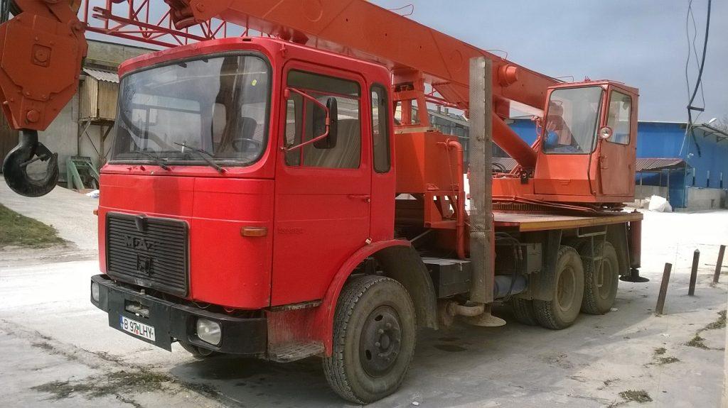 Macara 18 tone de vanzare